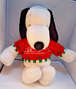Snoopy Macy S Plush 18 Ufs Peanuts Gang Dog Stuffed Animal Ebay