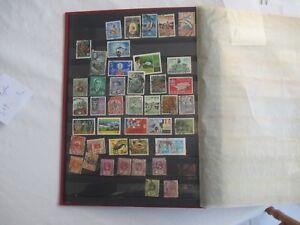 Lot-de-40-timbres-Ceylan-tous-etats