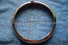 """Genuine Lucas 5-3/4"""" Chrome Outer Headlamp Rim BSA TRIUMPH ETC LU534343, 99-0691"""