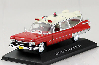1//43 Atlas Cadillac Miller-Meteor Ambulance Collection Ambulanz Krankenwagen