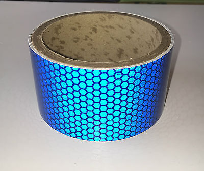 Blue Vehicle Van S-Lite Hi-Intensity Prismatic Reflective Self Adhesive Vinyl