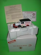 1931 FORD MODEL A TRUCK DANBURY MINT TEXACO MIB COMPLETE Die Cast 1:24 NEW