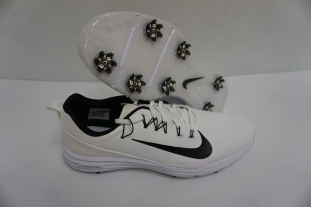 630bae3fe72 Nike Mens Golf Shoes Lunar Command 2 White Black Size 9 US for sale ...