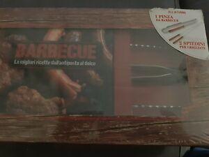 Barbecue-Le-migliori-ricette-dall-039-antipasto-al-dolce-Libro-Con-gadget-Nuovo