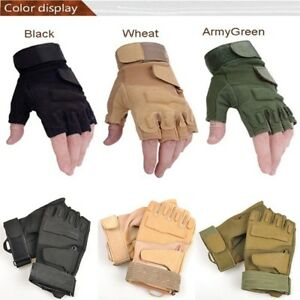 Durable-Multi-use-Riding-Game-Gloves-Outdoor-Fingerless-Military-Tactical