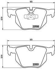 GENUINE BREMBO BRAKES FRONT BRAKE PAD SET P06036 /& REAR BRAKE PADS P06039
