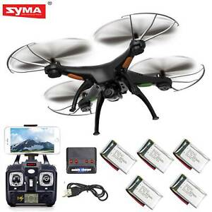 5-Batteries-Syma-X5SW-V3-RC-Quadcopter-FPV-Drone-6-Axis-Gyro-with-HD-WIFI-Camera