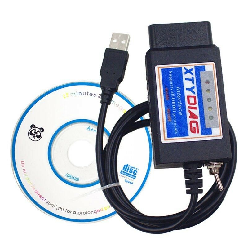 ForScan ELM327 USB V1.5 with Switch For Ford HS MS CAN BUS PIC18F25K80 chip, R399