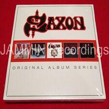 SAXON - ORIGINAL ALBUM SERIES - 5 CD BOX SET - FACTORY SEALED