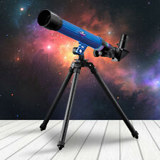 CHILDRENS TELESCOPE WITH TRIPOD SCIENCE ASTRONOMY KIDS GIFT XMAS STARS LEARNING