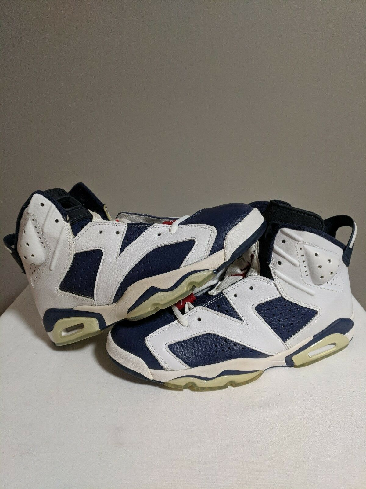 Jordan 6 Og Olympic 2000 Sydney Red White bluee Ds Sz 9.5