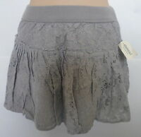 Womens Aeropostale Solid Lace Woven Skirt 2330
