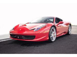 2012 Ferrari 458 2dr Cpe