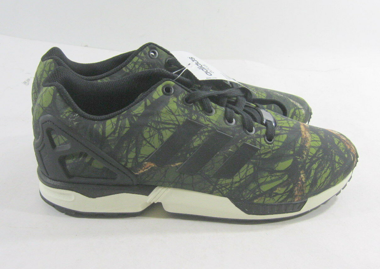 Nuevo Adidas Originals Zx verde Flux Deep Forest bosque verde Zx B34139 cc3d62