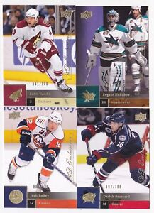 09-10-Upper-Deck-Keith-Yandle-100-UD-Exclusives-Coyotes-2009