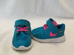 meet c43f2 773df Image is loading Nike-Kaishi-Run-Infant-Baby-Girls-Blue-pink-