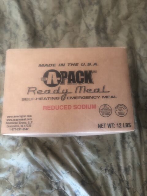 (REDUCED SODIUM) A Pack MEALS READY TO EAT