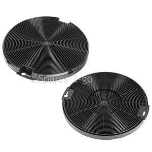 2 x electrolux eff75 cooker hood carbon vent fan filters. Black Bedroom Furniture Sets. Home Design Ideas