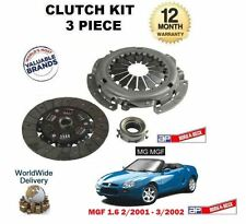 FOR MG MGF 1.6 111BHP + EXPRESS BOX 1.4 2001->NEW CLUTCH KIT PLATE COVER BEARING