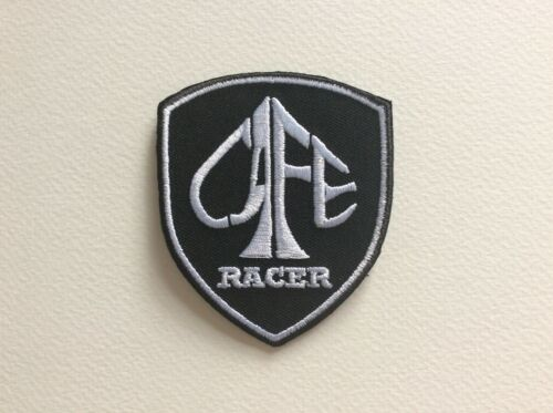 CAFE RACER 6.5*7.5 CM A075 //// ECUSSON PATCH AUFNAHER TOPPA NEUF