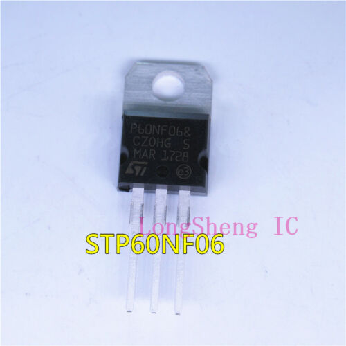 10 PCS STP60NF06 TO-220 MOSFET N-Ch 60 Volt 60 new
