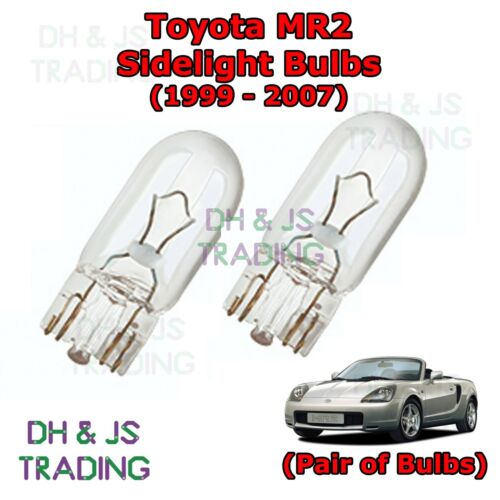 Toyota MR2 Front Sidelights Parking Lights Side Light Bulb Bulbs MK3 99-07