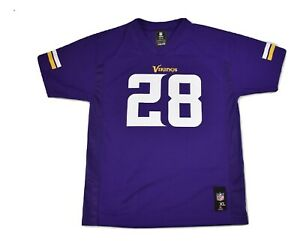 Details about NFL Team Apparel Youth Boys Minnesota Vikings Adrian Peterson Jersey NWT L, XL