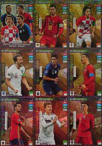 Panini Adrenalyn XL UEFA Euro em 2020 todos los 9 top Master rare tarjetas nº 1-9