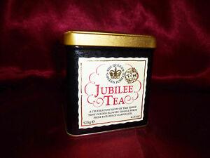 Taylors of Harrogate Tea COLLECTABLE TIN QUEEN'S GOLDEN JUBILEE 1952-2002 125g