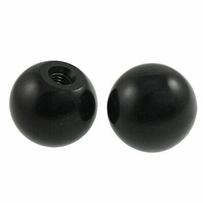 Aluminium Ball knob 32mm M8 Thread Polished finish Handles controls levers