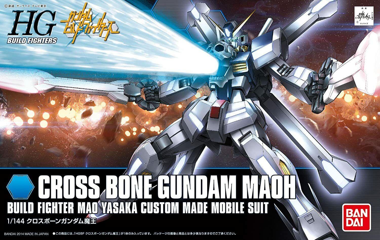 1//144 Scale Bandai Hobby #14 HGBF Crossbone Gundam Maoh Model Kit