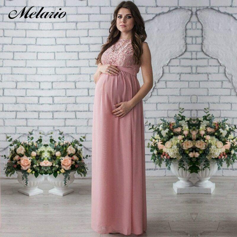 Vestido De Maternidad, Vestido ELEGANTE Formal Embarazada 2019 Ropa De Embarazo