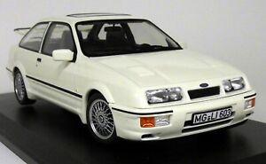 Intelligent Norev échelle 1/18 Ford Sierra Rs Cosworth 1986 3 Porte Blanc Lhd Diecast Voiture Modèle-afficher Le Titre D'origine