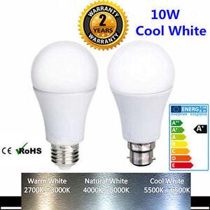 X2-x4-x6-x10-Bombilla-LED-brillante-10W-de-ahorro-de-energia-Lampara-De-Luz-Blanca-Fria-B22-E27