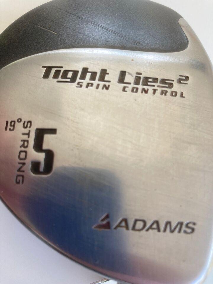 Driver, stål, ADAMS TIGHT LIES 2 Spin control