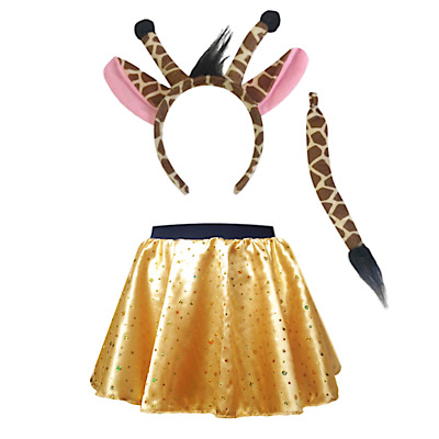 Giraffe and Me Costume WORLD BOOK DAY UK Fancy Dress Costume or Ears Tail option