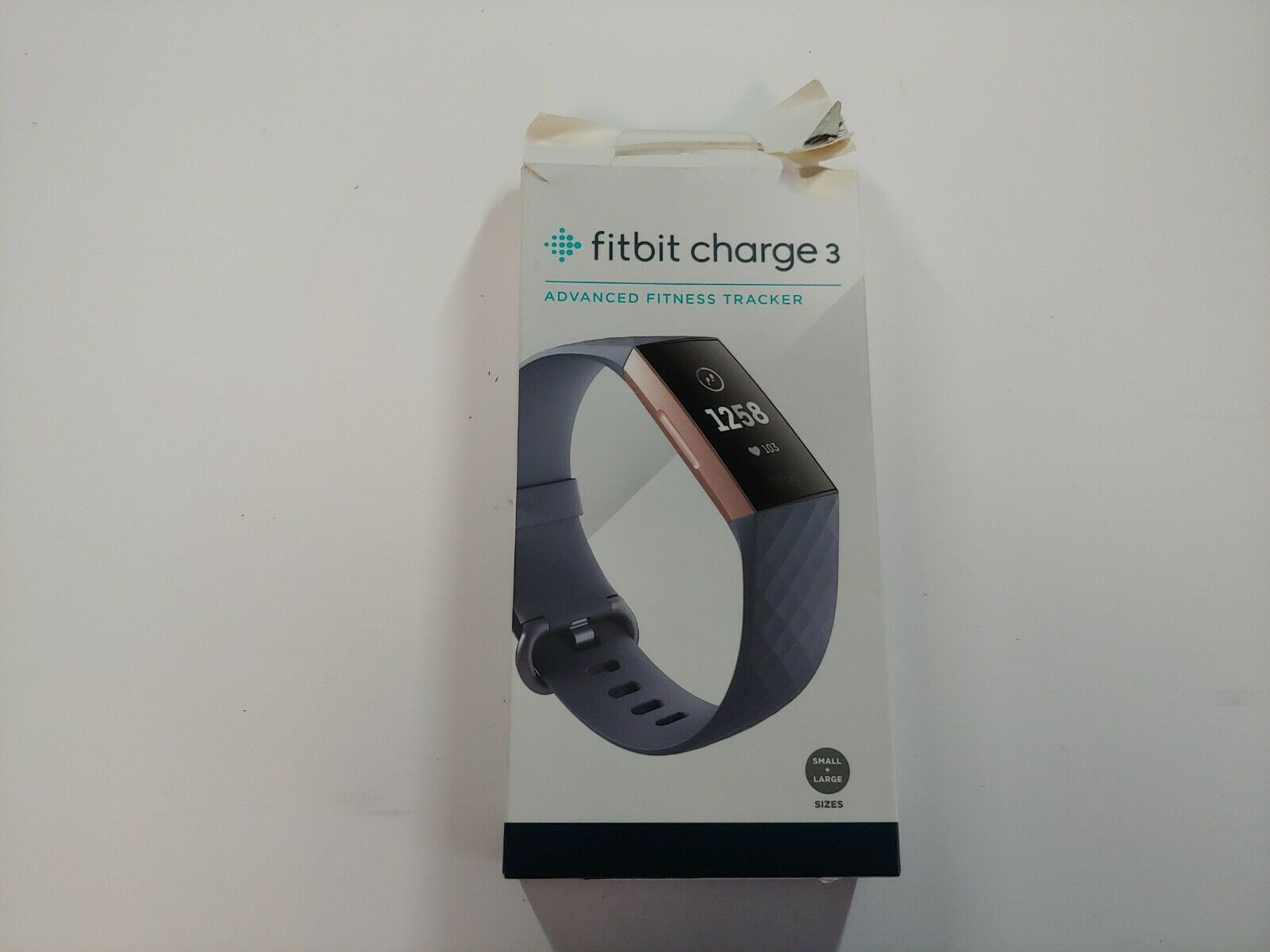Fitbit Charge 3 Heart Rate + Fitness tracker- Rose Gold/Blue Gray charge Featured fitbit fitness gray heart rate rose