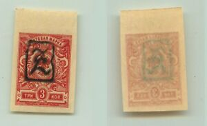 Armenia 1919 SC 32 mint black Type A . e9363