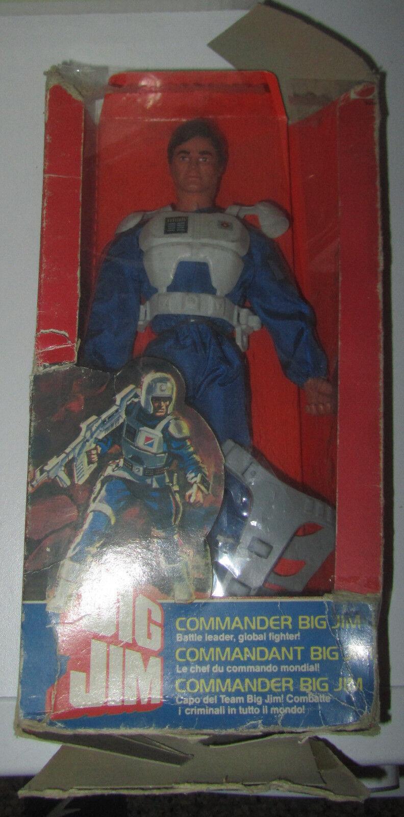 Big Jim Commander 9269 rigido box Rovinato Mattel SPESE GRATIS + Catalogo