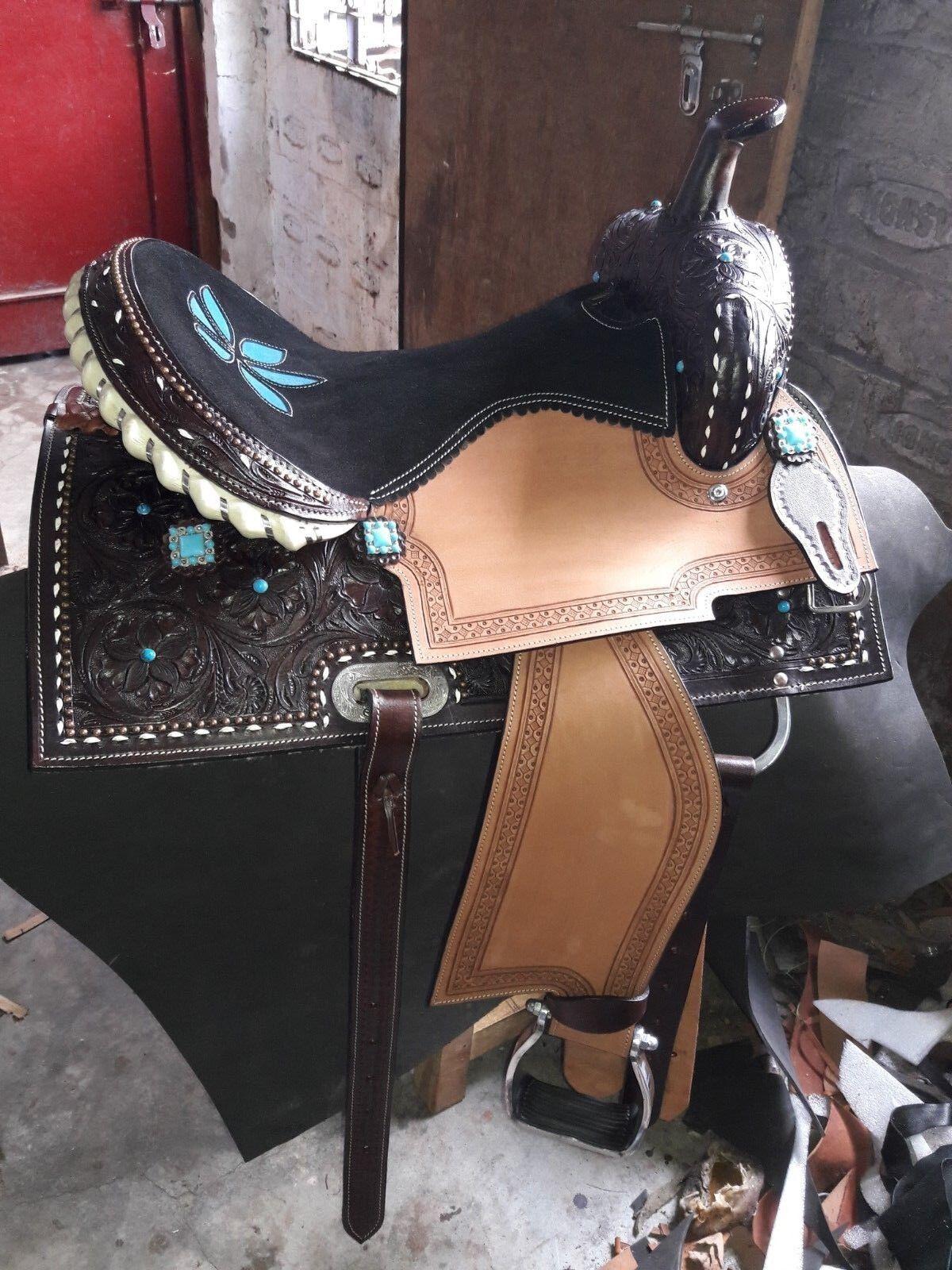 16'' western saddle barrel racing Style Saddle