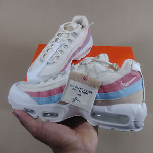 Details about Nike Women's Air Max 95 QS Plant Color Collection Crimson Tint Size 9 - In Hand