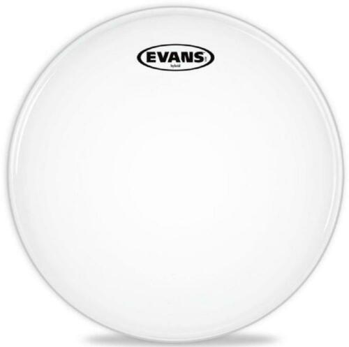 14 Inch 14 Inch Batter Evans Hybrid White Marching Snare Drum Head