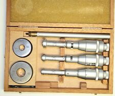 Swiss Tesa Imicro Three Point Internal Micrometer Metric Set 11 20 Mm 0002