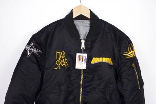 vintage GOLDBERG alpha bomber jacket - nwo - wcw w