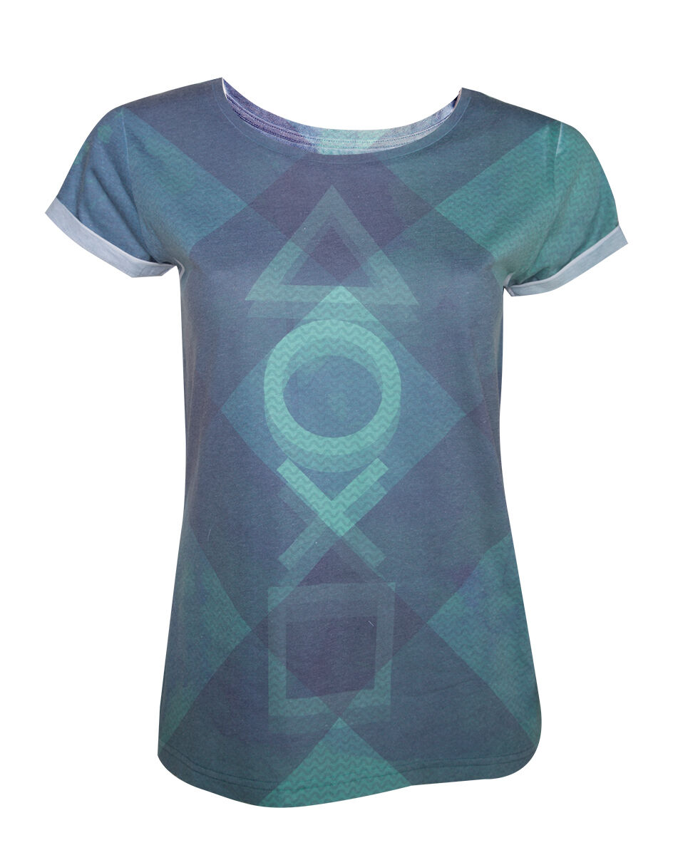 Playstation Subblimation T-Shirt Femme   Woman size   Size M