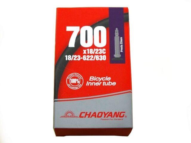 700x18//25c FOUR 4 Bicycle Inner Tubes Presta 60mm Fixie Road Bike Tubes 700x25c