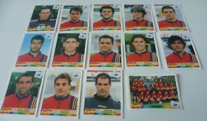 Panini France 98 stickers SPAIN stickers taken straight from packets MINT