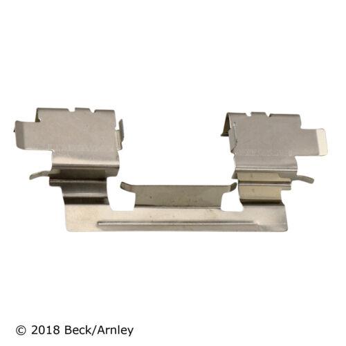 Disc Brake Hardware Kit Front Beck//Arnley 084-1556