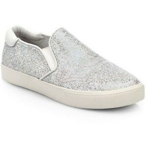9303d3a97a9e6 ASH WOMENS IMPULSE GLITTER SLIP ON SKATER SNEAKERS SHOES $135.00 NEW ...