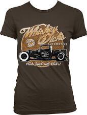 Whiskey Dicks Automotive Hot Rod Vintage Car Ad Auto Race Juniors T-shirt